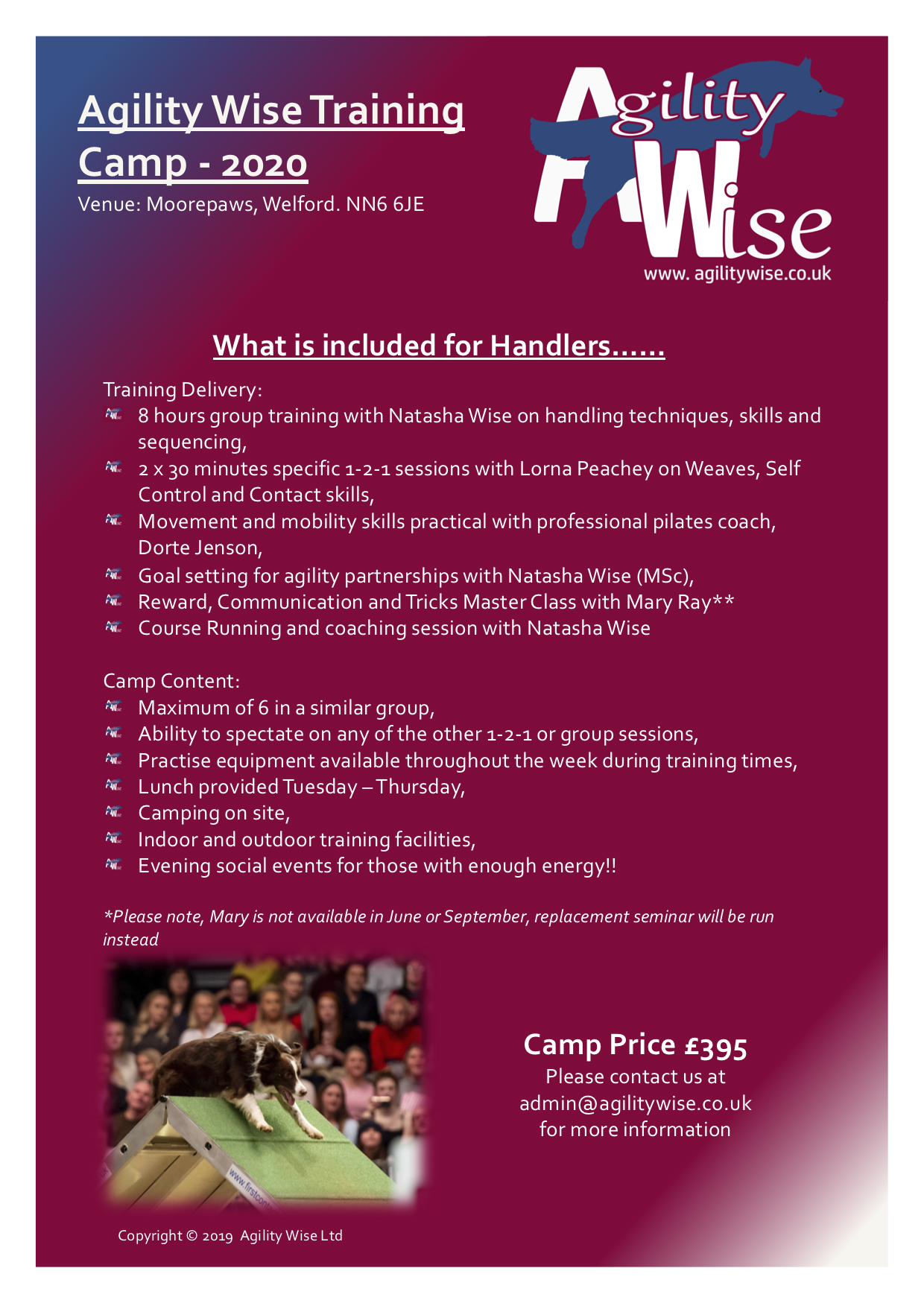 Camp Flyer - Click to view in detail